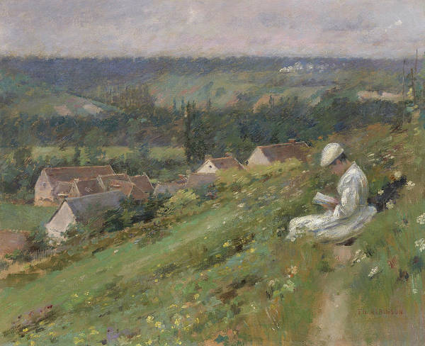 Wall Art - Painting - The Valley Of Arconville by Theodore Robinson