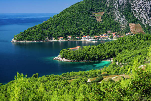 Wall Art - Photograph - The Village Of Trstenik On The Peljesac by Russ Bishop