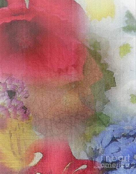 Digital Art - Thinking Of Summer Days by Kathie Chicoine