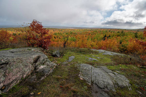 Photograph - Thomas Rock Scenic Overlook 10111801 by Rick Veldman