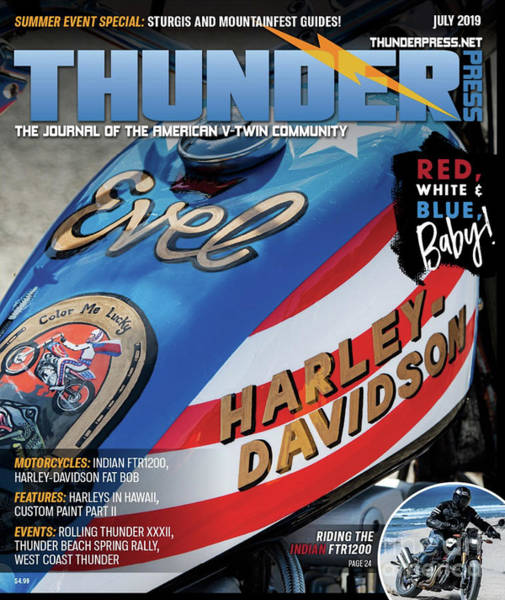 Photograph - Thunder Press Magazine  by Tim Gainey