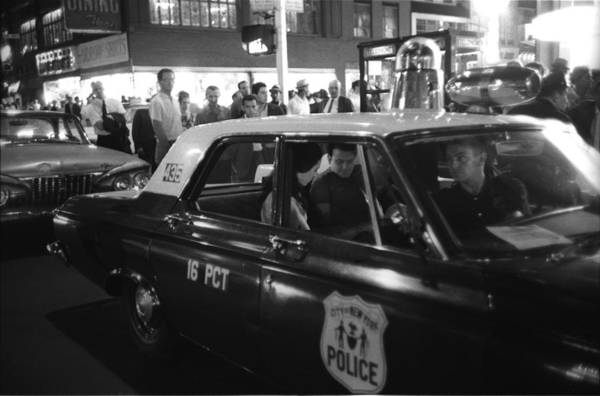 Police Force Photograph - Times Square After Midnight by I C Rapoport