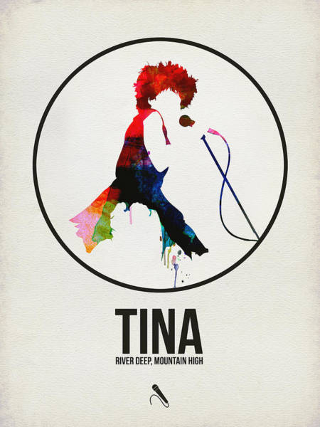 Hard Rock Wall Art - Digital Art - Tina Turner by Naxart Studio