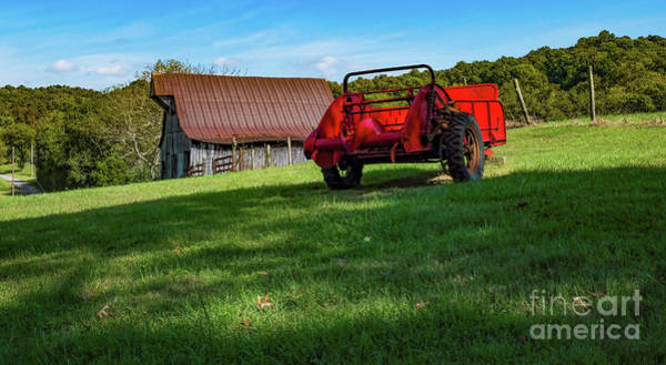 Hillside Wall Art - Photograph - Tn Barn by Elijah Knight