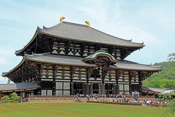 Photograph - Todai-ji Temple - Nara, Japan by Richard Krebs