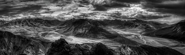Wall Art - Photograph - Toklat River Panorama - Alaska by N P S Jacob W Frank