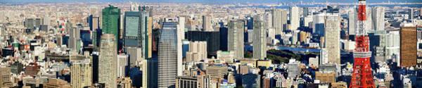 Wall Art - Photograph - Tokyo Downtown Panorama by Vladimir Zakharov