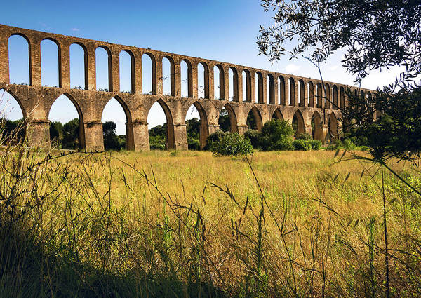 Wall Art - Photograph - Tomar Aqueduct by Carlos Caetano