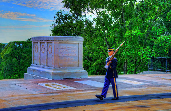 Dod Digital Art - Tomb Of The Unknown Soldier Painting by Craig Fildes