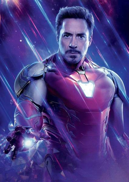 Wall Art - Digital Art - Tony Stark Iron Man by Geek N Rock