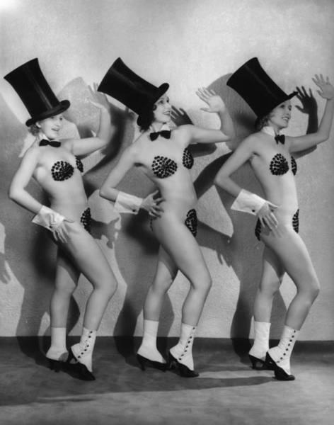 Revue Photograph - Top Hat No Tails by Sasha