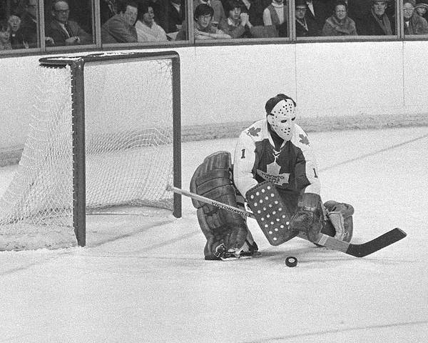 Montreal Photograph - Toronto Maple Leafs V Montreal Canadiens by Denis Brodeur