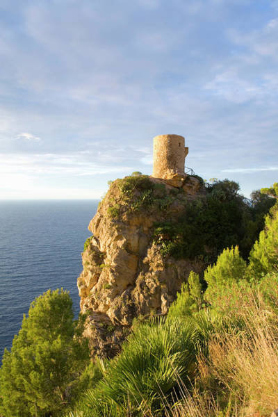 Wall Art - Photograph - Torre De Ses Animes, Also Known As The by David C Tomlinson