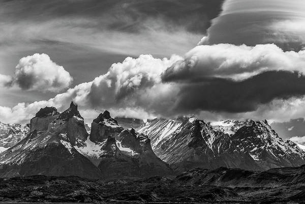 Wall Art - Photograph - Torres Del Paine National Park, Cuernos by Howie Garber