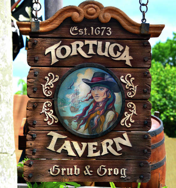Wall Art - Photograph - Tortuga Tavern Est 1673 by David Lee Thompson