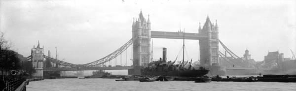 Wall Art - Photograph - Tower Bridge by Alfred Hind Robinson