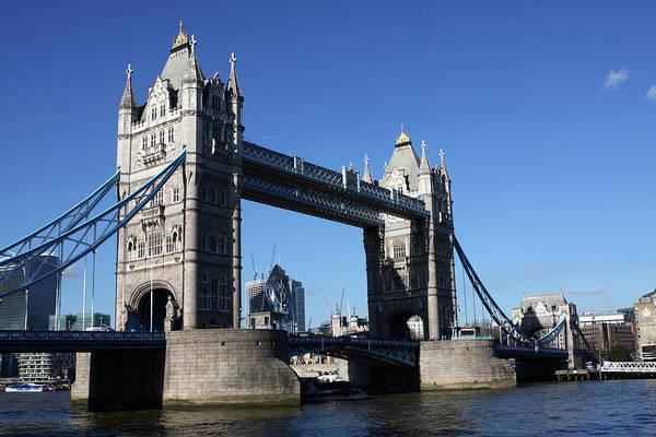 Photograph - Tower Bridge, London, England by Aidan Moran