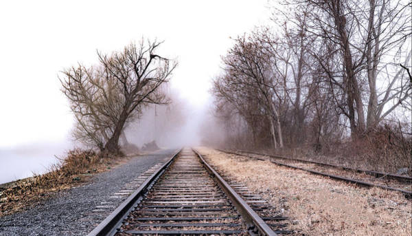 Photograph - Tracks - Kingston Point Park by Tom Romeo