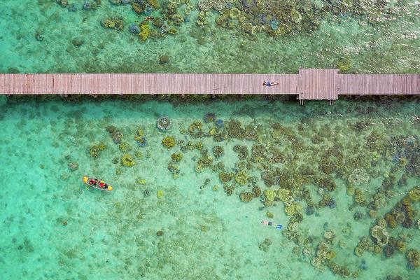 Koh Phi Phi Wall Art - Photograph - Travel Thailand Sea  by Anek Suwannaphoom
