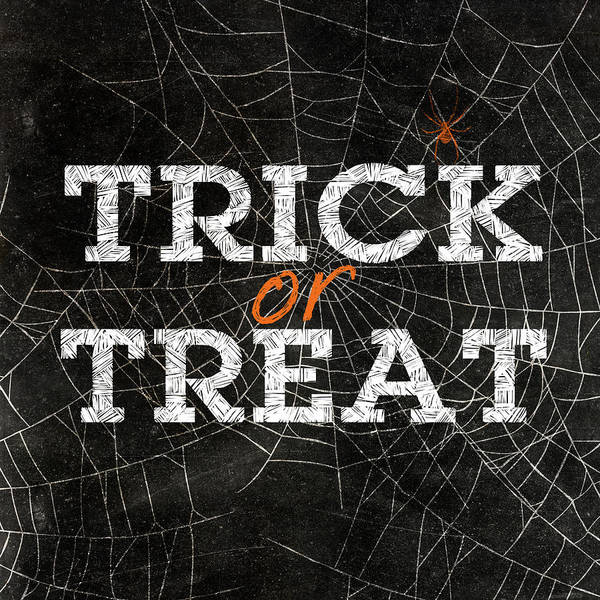 Spider Digital Art - Trick Or Treat by Sd Graphics Studio