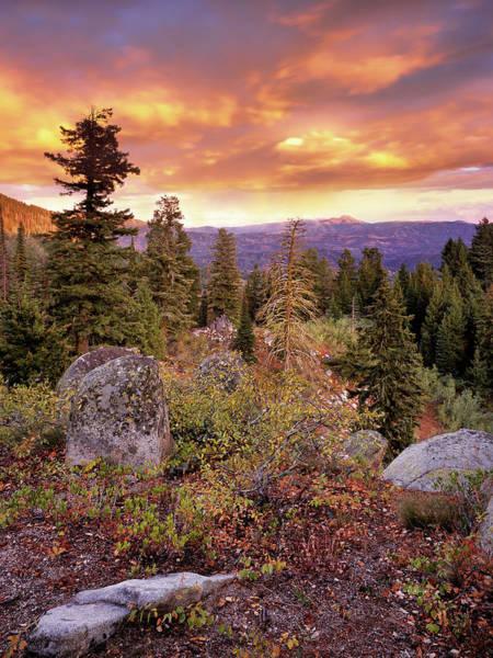 Photograph - Trinity Mountains by Leland D Howard