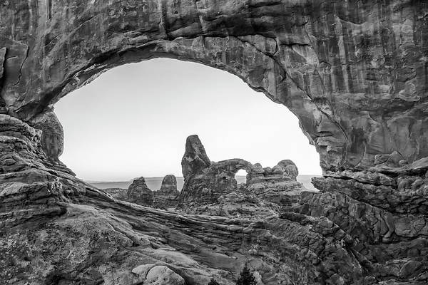 Wall Art - Photograph - Turret Arch Through North Window Arches National Park by Stephanie McDowell