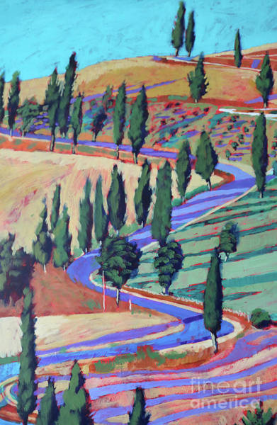 Wall Art - Painting - Tuscany by Paul Powis