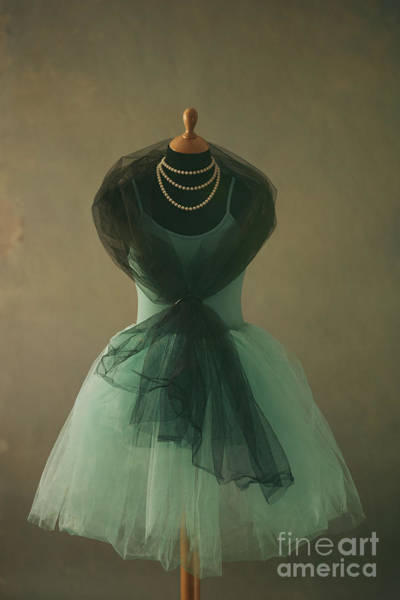 Paper Dress Photograph - A Tutu On A Mannequin by Jelena Jovanovic