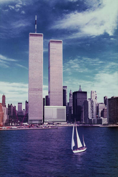 Twin Cities Photograph - Twin Towers Remembered Wtc by Laura Fasulo