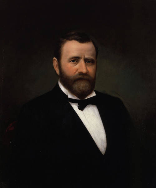 Wall Art - Painting - Ulysses Simpson Grant by Unknown