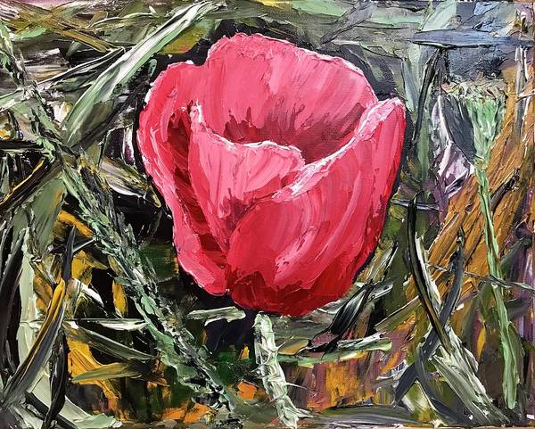 Painting - Umbrian Poppies 2 by Ovidiu Ervin Gruia