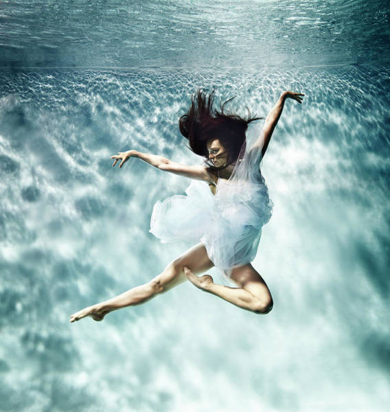 Motion Photograph - Underwater Ballet by Henrik Sorensen