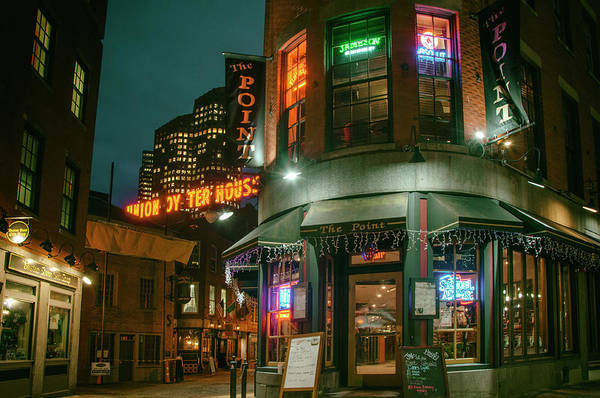 Photograph - Union Oyster House - Blackstone Block - Boston by Joann Vitali