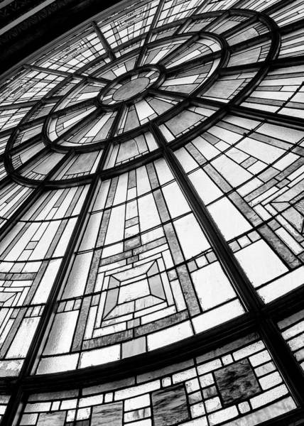 Wall Art - Photograph - Union Station Glass - Indy #11 by Stephen Stookey