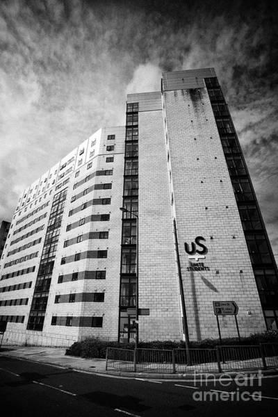 Wall Art - Photograph - unite students grand central university accommodation blocks Liverpool Merseyside England UK by Joe Fox