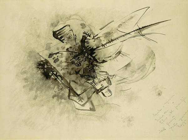 Drawing - Untitled, 1916 by Wassily Kandinsky