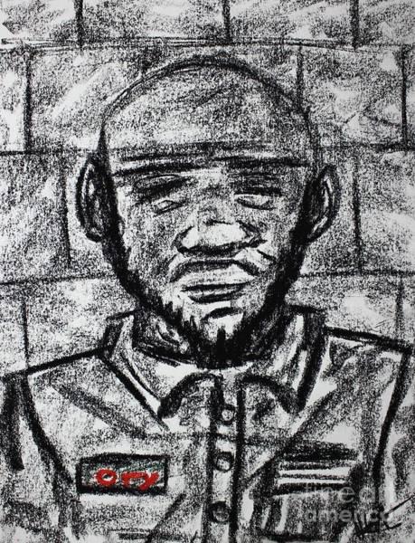 Drawing - Untitled II by Odalo Wasikhongo