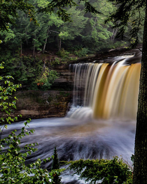 Photograph - Upper Tahquamenon Falls by William Christiansen