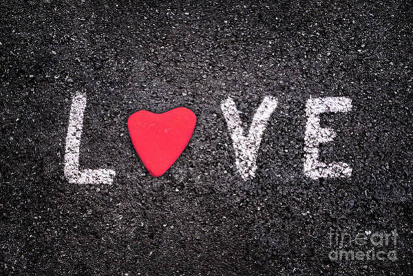 Wall Art - Photograph - Urban Love by Delphimages Photo Creations