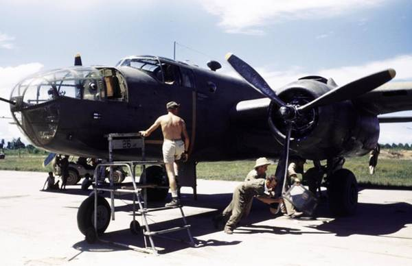 Photograph - U.s. Army Air Force Base by Michael Ochs Archives