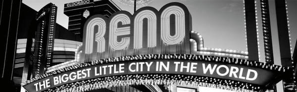 Wall Art - Photograph - Us, Nevada, Reno by Panoramic Images