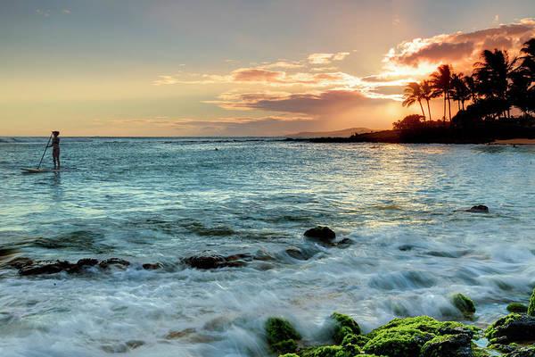 Wall Art - Photograph - Usa, Hawaii, Kauai, Poipu Beach by Michele Falzone