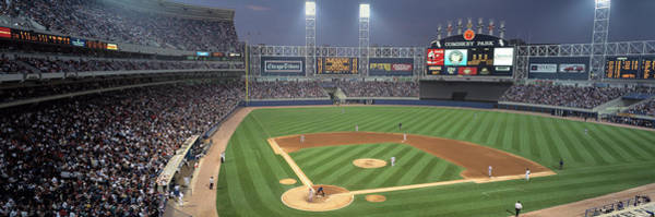 Wall Art - Photograph - Usa, Illinois, Chicago, White Sox by Panoramic Images