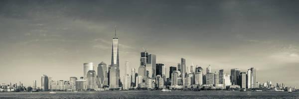 Wall Art - Photograph - Usa, New York City, Lower Manhattan by Walter Bibikow