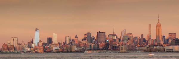 Wall Art - Photograph - Usa, New York City, Manhattan Skyline by Walter Bibikow