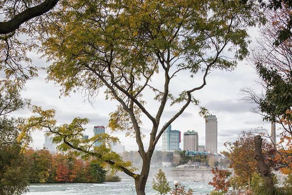 Wall Art - Photograph - Usa, New York, Niagara Falls, View by Walter Bibikow