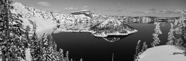 Wall Art - Photograph - Usa, Oregon, Crater Lake National Park by Panoramic Images
