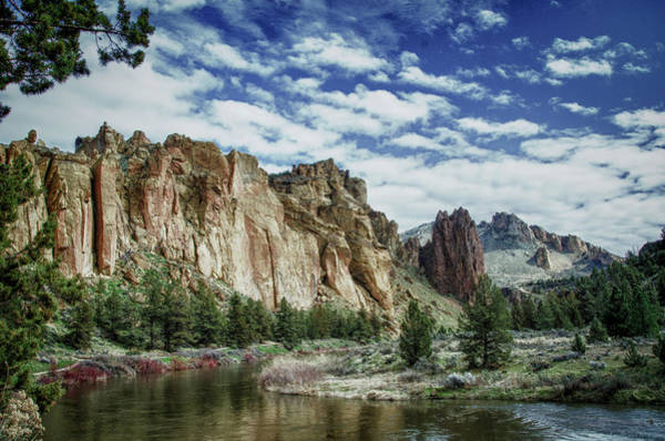 Crooked River Photograph - Usa, Oregon, Smith Rock State Park by Mark Williford