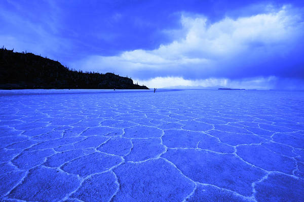 Photograph - Uyuni Salt Flats, Bolivia by Aidan Moran