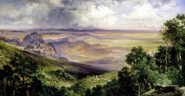 Wall Art - Painting - Valley Of Cuernavaca, 1903 by Thomas Moran